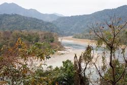 Manas, Bhutan, Blue Elephant, Vogelreis